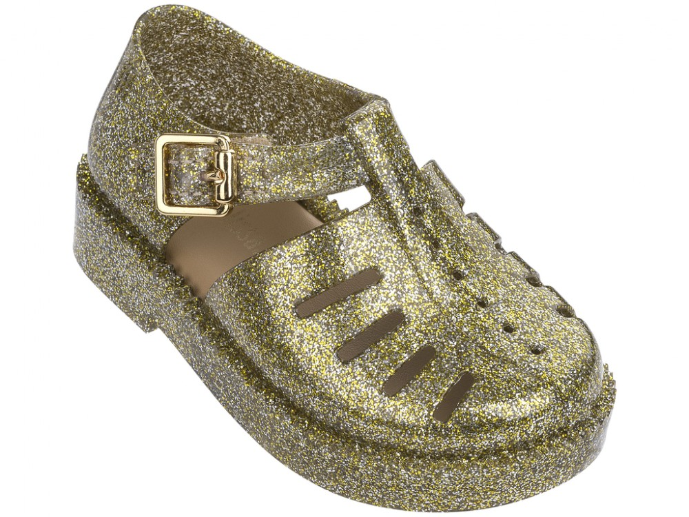 Mini Melissa Aranha 7916  - dourado