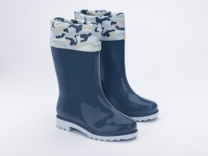 Mini Melissa Rain Boot + Rose & Bleu Inf -