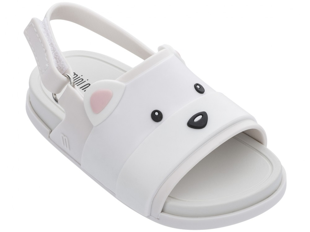Mini Melissa Beach Slide Sandal Bear -