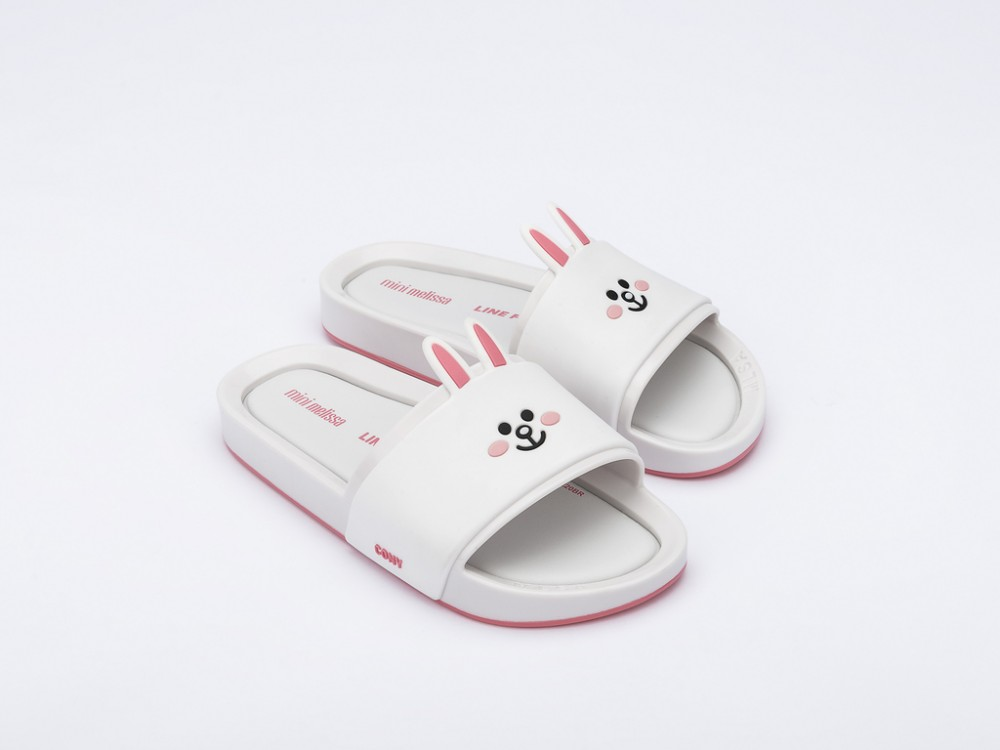 Mini Melissa Beach Slide + Line Friends -