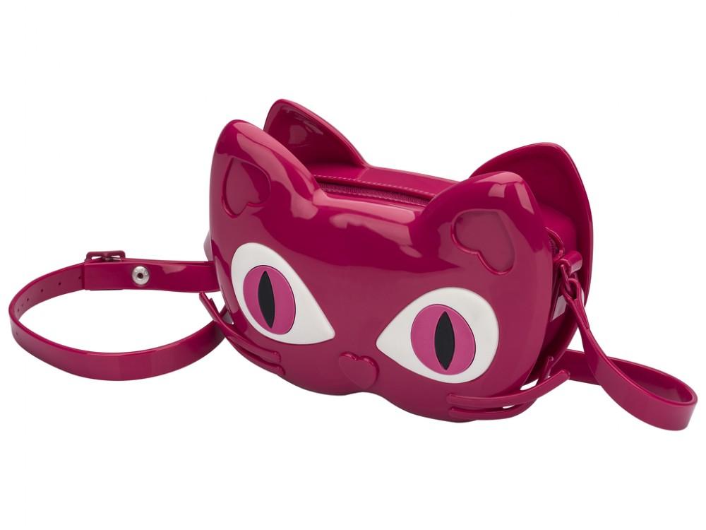 Mini Melissa Bag Cat  - pink