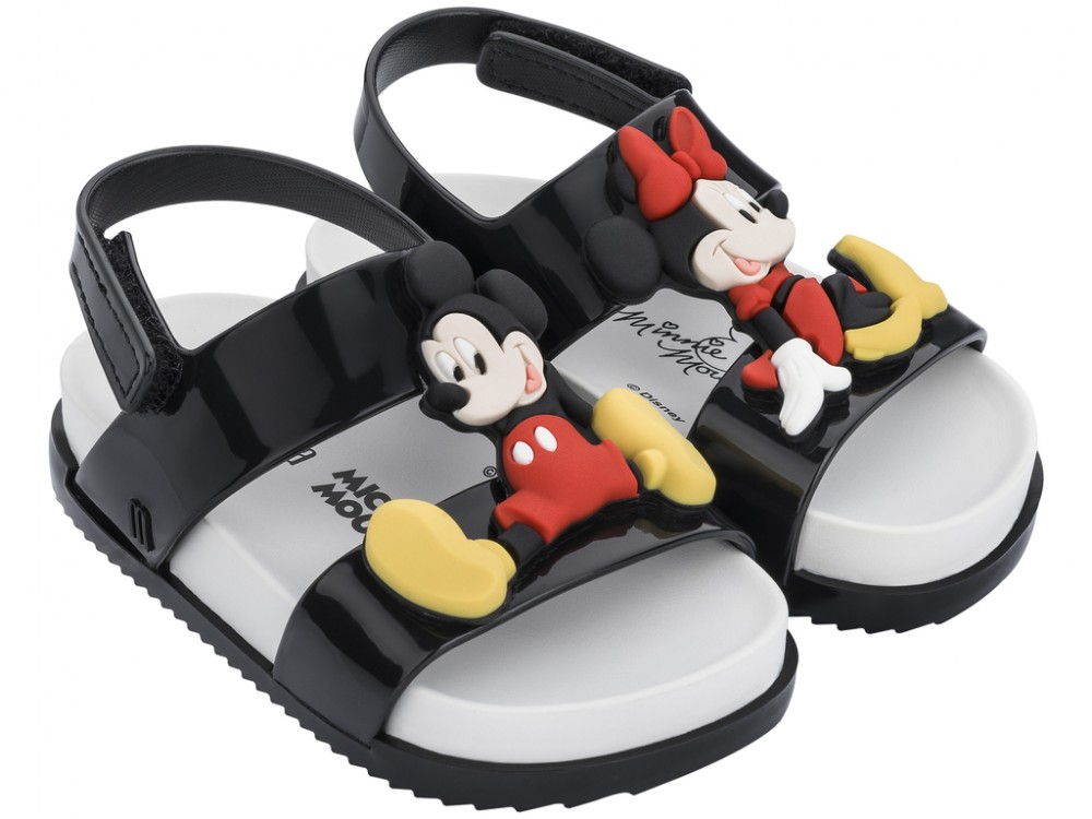 Mini Melissa Cosmic Sandal + Disney Twins -
