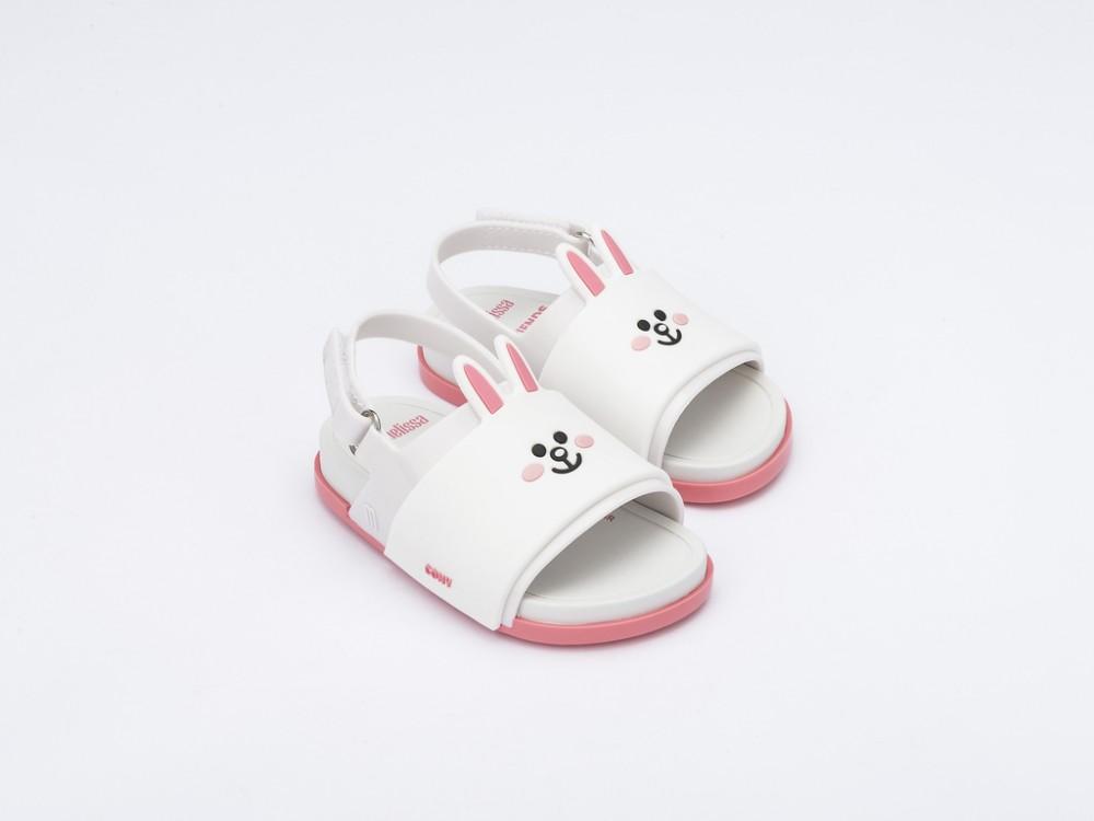 Mini Melissa Beach Slide Sandal + Line Friends -