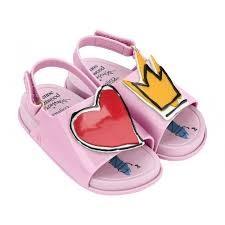 Vivienne Westwood Anglomania + Mini Melissa Beach Slide Sandal -